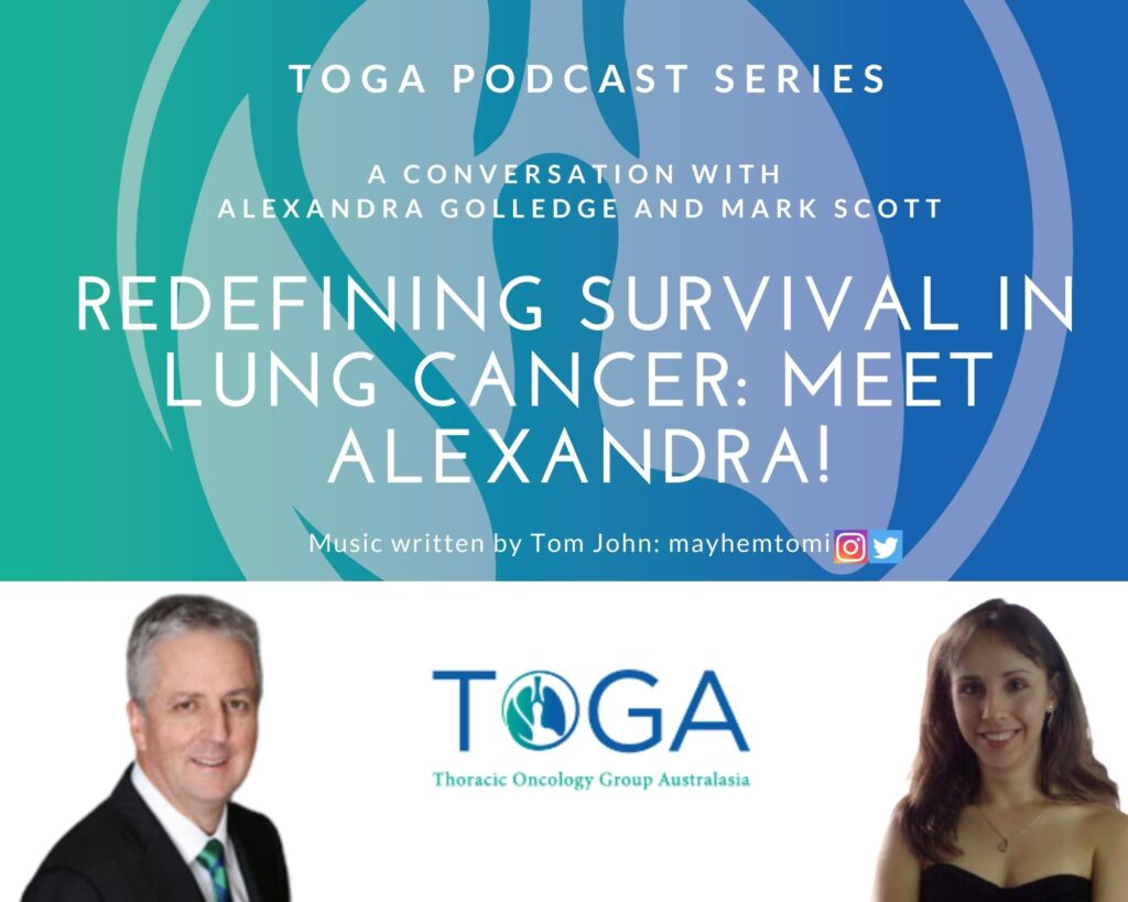 survival in lung cancer podcast