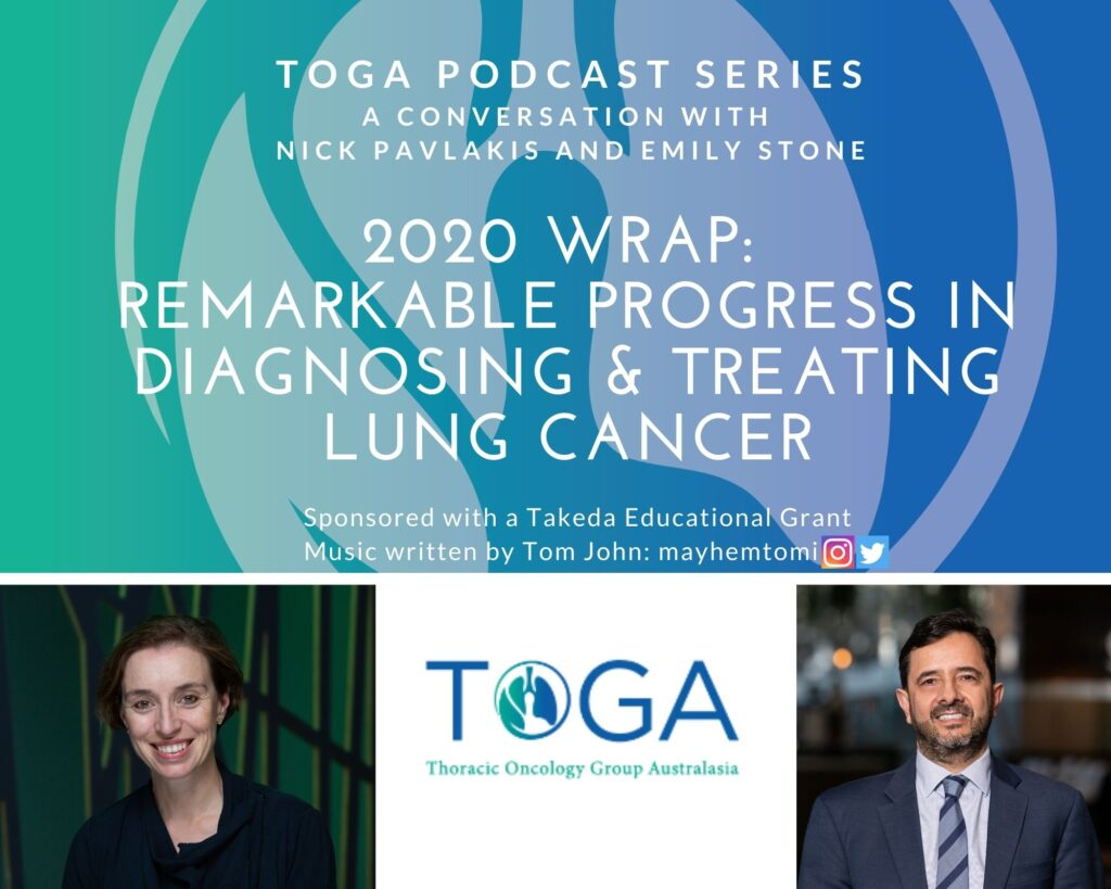 Progress in lung cancer podcast