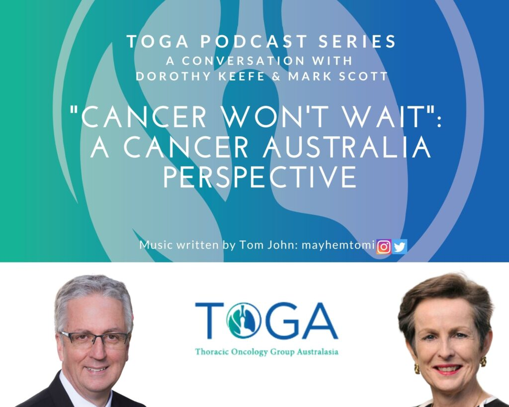 Cancer Australia Dorothy Keefe podcast