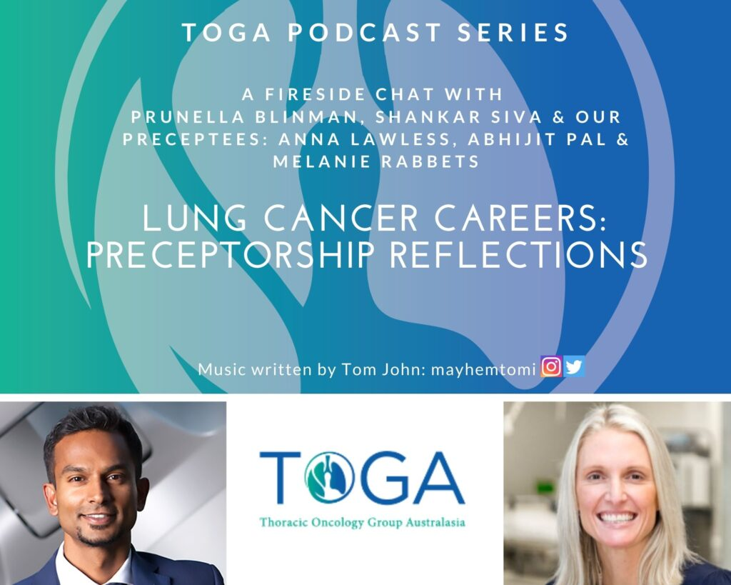 lung cancer careers and preceptorship podcast