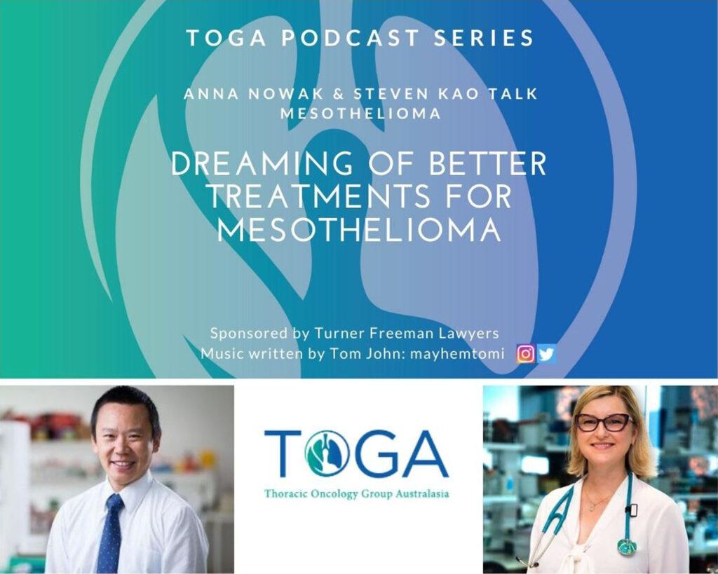 mesothelioma treatments podcast