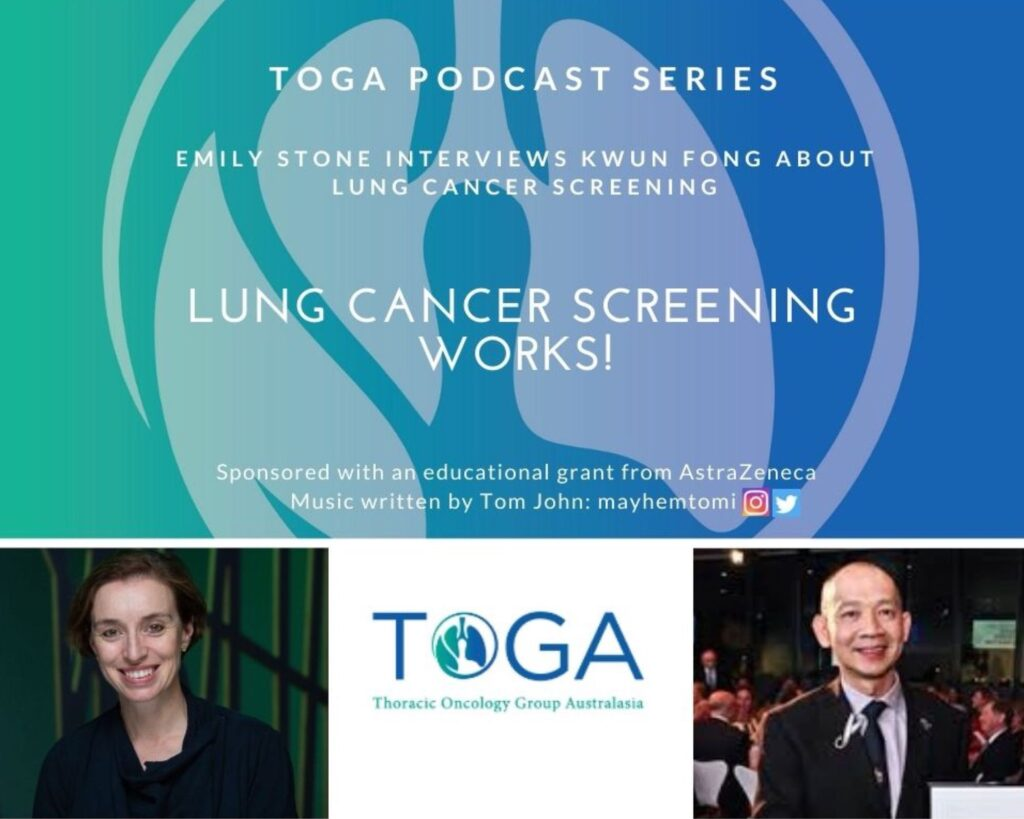 Lung cancer screening podcast