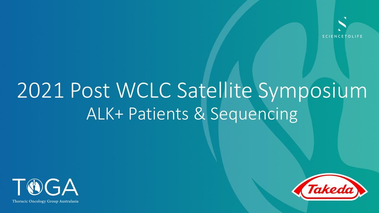 post WCLC satellite symposium 2021 ALK