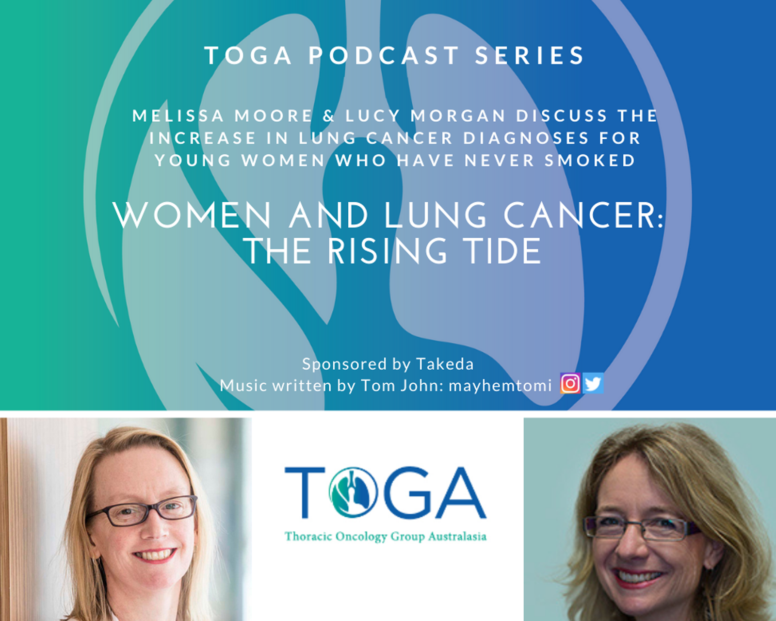 Women and lung cancer podcast