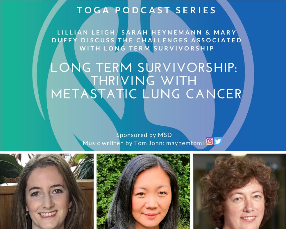 survivorship in metastatic lung cancer podcast